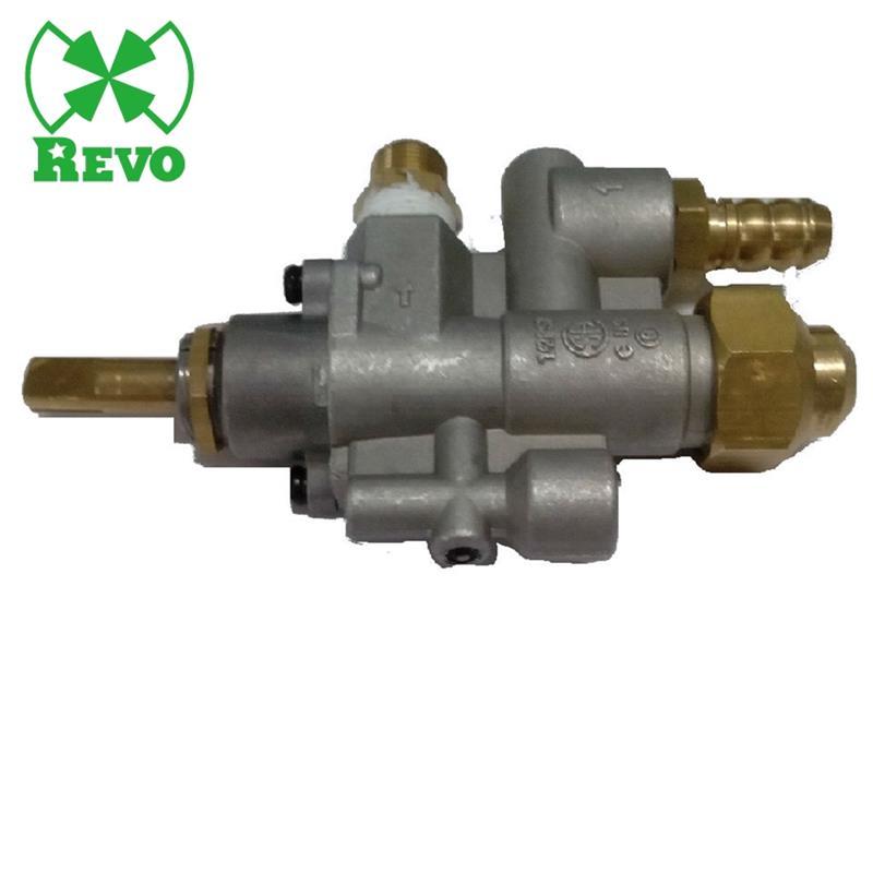 버너 스토브 노브 밸브 튀김기 온도 제어 오븐 가스 로그 자동 파일럿 수동 밸브