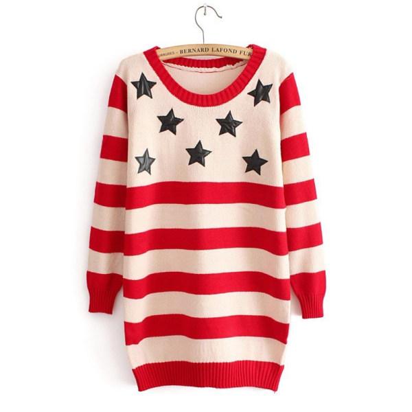 moda suéter de las mujeres ropa de otoño de dibujos animados ...