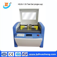 HZJQ-1 1 cup,80KV,Transformer Insulation Oil Dielectric Strength Tester,Oil Breakdown Voltage Tester