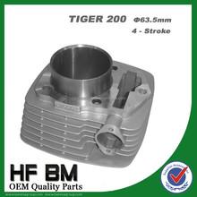 200cc Single Cylinder Motorcycle Engines 63.5mm 4 Stroke Cylinder for Motorbike