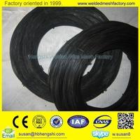 Alibaba 22 gauge black annealed bailing tie wire