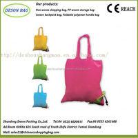 210D nylon cheap strawberry watermelon polyester shopping bagpromotional bag