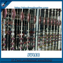 China supplier glass crystal beaded curtain