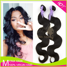 Top quality 7a health ends wholesale Brazilian virign hair weft sealer for hair extensions