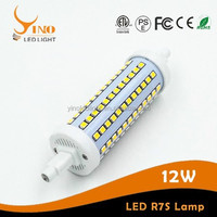 Greenergy Lighting 12w r7s 360degree Beam Angle r7s led bulb 135mm 1120/11800/1200lm with higher quality
