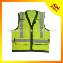 2015 hot-sell safety reflective vest for wholesale