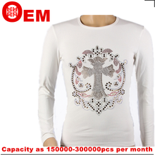 Exqusite 100% cotton factory price long sleeve t-shirt for men wholesale china