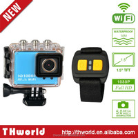 """remote camera X-Game Wifi underwater 60M Full HD 1080p helmet sport action camera with 2.0"""" Touch Screen"""