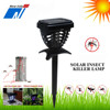 Solar mosquito trap with LED light