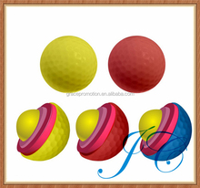 Three piece golf balls for sale/large golf ball with different colors