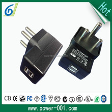 south africa plug CE/CB/SAS approve dual usb car charger for mobile phone