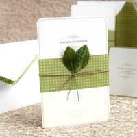 High quality wholesale cut wedding with invitation