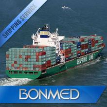 International shipping freight forwarding port to port sea cargo to riyadh