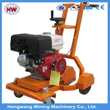 180mm Depth Gasoline Asphalt Road Cutter /used road cutter/road cutting machine