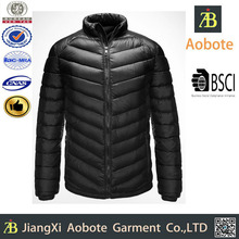 2015 Best Price Custom Man Winter Black Outerwear Coat