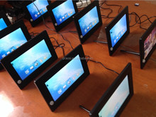 hot sale 7 inch lcd video monitor advertising retail store
