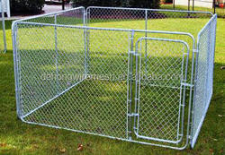 Outdoor Metal Dog Kennel/ Good Value Chain Link Fence