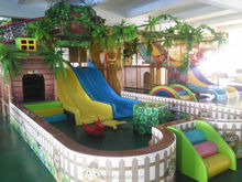 children castle with soft play commerical vale in shopping mall