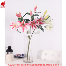 Four head perfume lily for christmas present best selling items