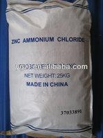 Zinc Salt direct manufactorer zinc fluxing ammonium zinc chloride 75%NH4Cl.ZnCl2 manufactory