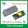 LED display power supply 20w triac dimmable led panel light driver