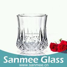 7.6OZ Crystal Bottom Wine Glasses Red Wine Glass Whisky Glass