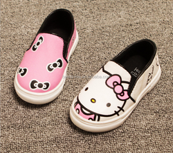 2015 hot sale kitty shoes girl for wholesale