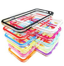 Frame bumper protective mobile phone case for iphone6