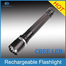 1*18650 battery + Charger + 800 Lumens + 3 Modes CR EE LED zoom maglite led flashlight