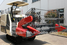 crawler type China rice combine rubber track type for export 4LZ-3.6