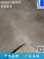 1.0mm REAL LEATHER FLOCKED PU LEATHER FOR SOFA AND UPHOLSTERY