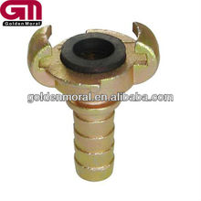 Europe hose end in pipe fitting