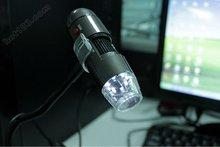 600x poche microscope usb avec logiciel de mesure,