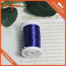 0.5mm decorative metallic colored wire craft