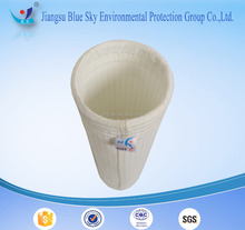 High efficiency of dust removing Nonwoven needle punched antistatic polyester filter bag