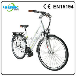 urban women/girl electric bike with hidden battery for finland
