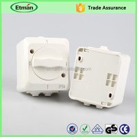 Flush wiring switch outdoor light switch electric wall switch socket 220v
