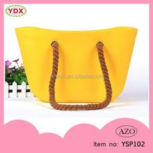 Customized logo printed waterproof wholesale silicone handbag