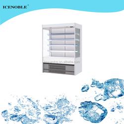 2M hot sale vertical used supermarket refrigeration equipment