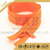 Contact Supplier Chat Now! new style fashion plastic diamond zipper , rhinestone plastic zipper, close end rhinestone plastic z