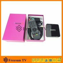 Smart indian iptv tv receiver including 190 live channels , no need any dish