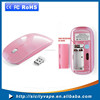 Promotional Gift Cheapest Laptop 2.4G Slim Wireless Mouse with Laser LED LOGO