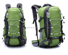 30 - 40L Capacity various color outdoor teens camping backpack with Internal metal frame and rain cover