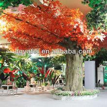 2015ผลิตภัณฑ์ใหม่เทียมสีแดงเมเปิ้ลต้นไม้ขายส่ง