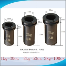 JC Graphite Crucible for Metal Gold Melting With Competitive Price