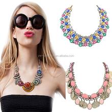 Yiwu Collection 1PC MOQ choker necklace,2014 wholesale statement necklace,China wholesale Jewelry