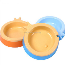 Fashion Colorful Durable Fish Shaped Pet Bowls&feeders