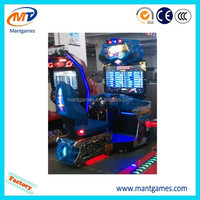 coin operated gun shooting car racing bike motorcycle simulator video amusement arcade game machine for children game center