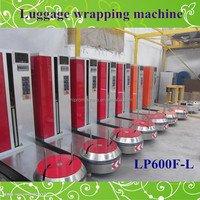 Hotel Airport Luggage stretch film roll wrap packing machine