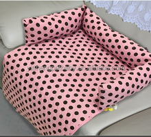 2015 all detachable & washable pet cushion pet sofa bed dog bed